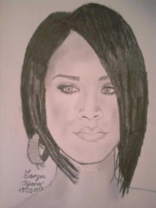 Rihanna por Sergen